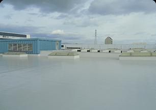 屋上塩ビシート防水工事