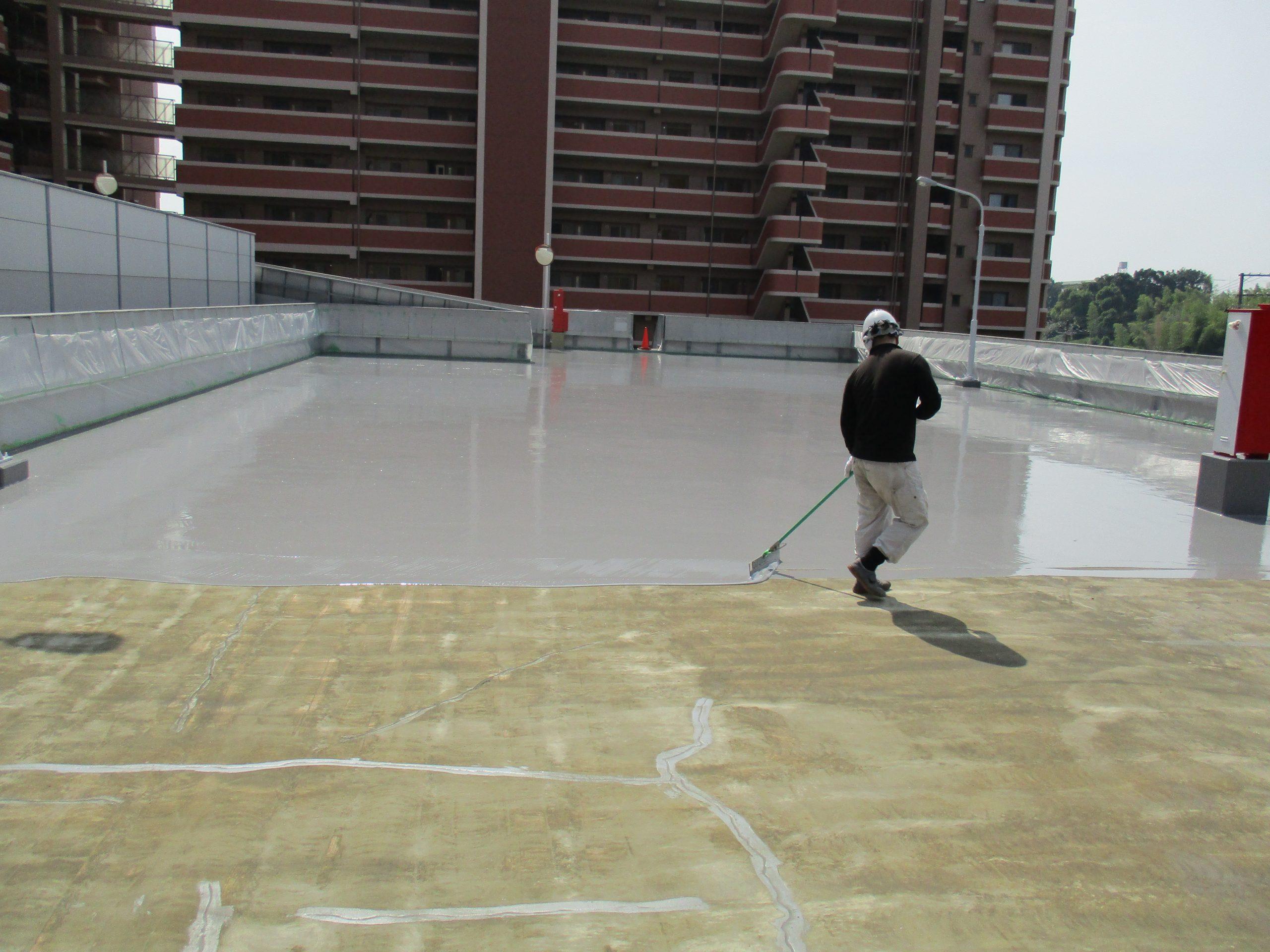 駐車場FRP防水工事